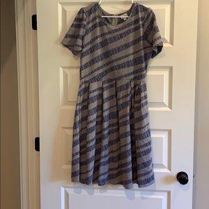 Lula Roe Peplum Dress Size 2XL